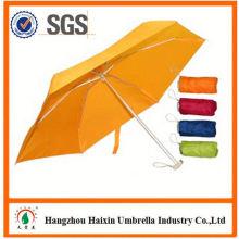 Neueste Design EVA Material portable 5 Falten Regenschirm