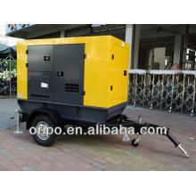 50hz diesel generator set with cummins engine trolley/trailer type open/silent type