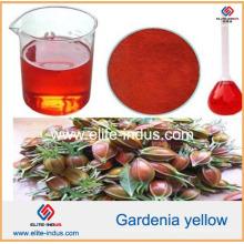 Couleur naturelle des aliments Poudre jaune Gardenia