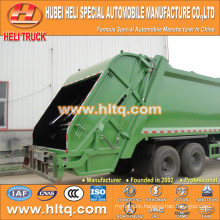 DONGFENG 6x4 16/20 m3 heavy duty trash compression truck diesel engine 210hp with pressing mechanism