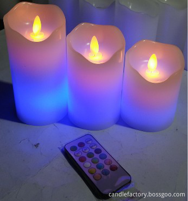 flickerled candle
