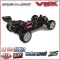1/10 scale 4WD Buggy RC électrique avec accu lipo