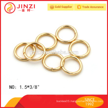 high quality gold iron o ring for key chain