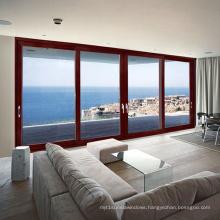 Feelingtop Aluminum 3 Rails Soundproof Double Glazed Door (FT-D190)