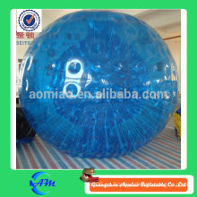 Bola humana gigante del hámster inflable zorb globo inflable bola humana del zorb