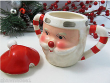 Christmas Gift Ceramic Cream Sugar Pot
