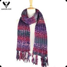 Модные красочные акриловые Исландия Пряжа пространства краска шарф