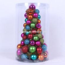 colorido mini pre decorado en vivo árbol de Navidad