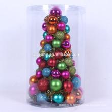 Arbre de Noël en direct mini animé coloré
