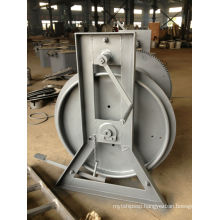 marine steel wire reel type B for ships