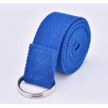 JW Professional High Quality Durable fitness Customized Yoga Tension Stretch Strap Belt