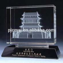 High quality 3D Laser Engraving Crystal Gift