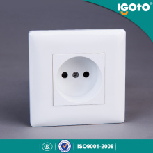 European Standard 10A 250V 1 Gang Russian Type Wall Socket