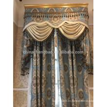 Venta al por mayor de antiguas cortinas Últimos diseños de cortinas reales