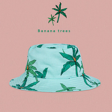 Custom Hawaiian Tie Dyed Bucket Hat Wholesale