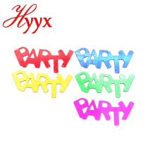 HYYX Grande Nouvelle arrivée de gros fête fournitures pvc confetti