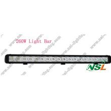 Barre lumineuse 4X4 du CREE LED de 42 pouces 260W outre de la route Heavy Duty, militaire de Sut, agriculture, marine, lumière minière