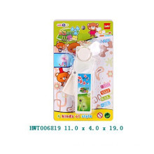 Plastikmini-Förderung-Spielzeug-Ventilator, Kind-Spielzeug-Ventilator, manueller Handsteuerungsventilator