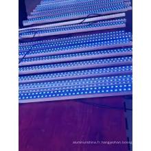 Profilé en aluminium plat 220V LED changeante de couleur
