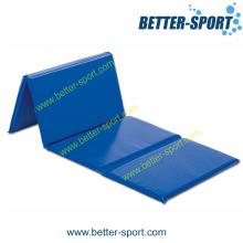 Tapis de gym sportif, tapis de gymnastique pliant, tapis de salle de gym