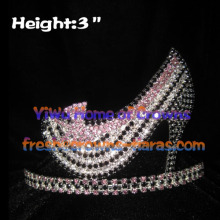 3inch High Heel Shoe Crown