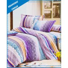 Conjunto de capa de edredão de cama de algodão 5 poliéster PCS