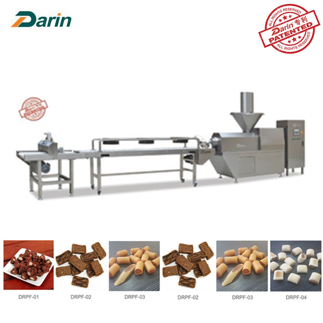 Jerky Treats Beef Flavor Dog Snacks Koud extruderen Machine