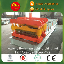 Glazed Color Steel Tile Roll Forming Machine / Making Machine