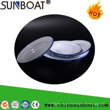 Artículos de cocina de Sunboat / plato del esmalte / vajilla