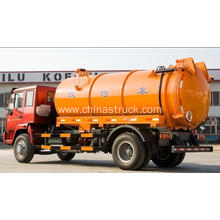 SINOTRUK 10000 liters waste oil suction tank truck