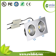 Square 20W COB LED Downlight with Factory Prices