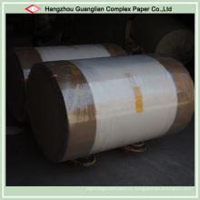 Papel revestido de silicone pergaminho Jumbo Rolls