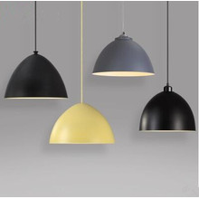 Hot Sale Colorful Iron LED Pendant Lamp