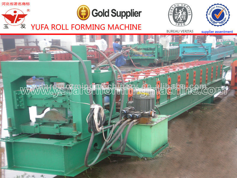 YUFA Full Automatic Ridge Cap Roll Forming Machine