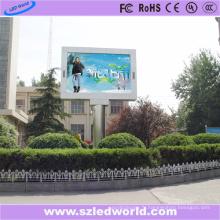 Panneau d'affichage à LED fixe polychrome extérieur de définition élevée de P5 pour la publicité