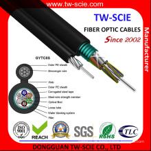 Cabo de fibra auto-suportado Gytc8s