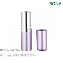 Étui à lèvres en aluminium de luxe
