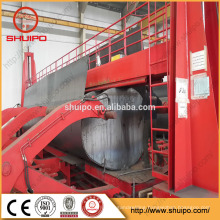 China Shuipo Automatic forming with carbon and stainless steel tank rolling machine