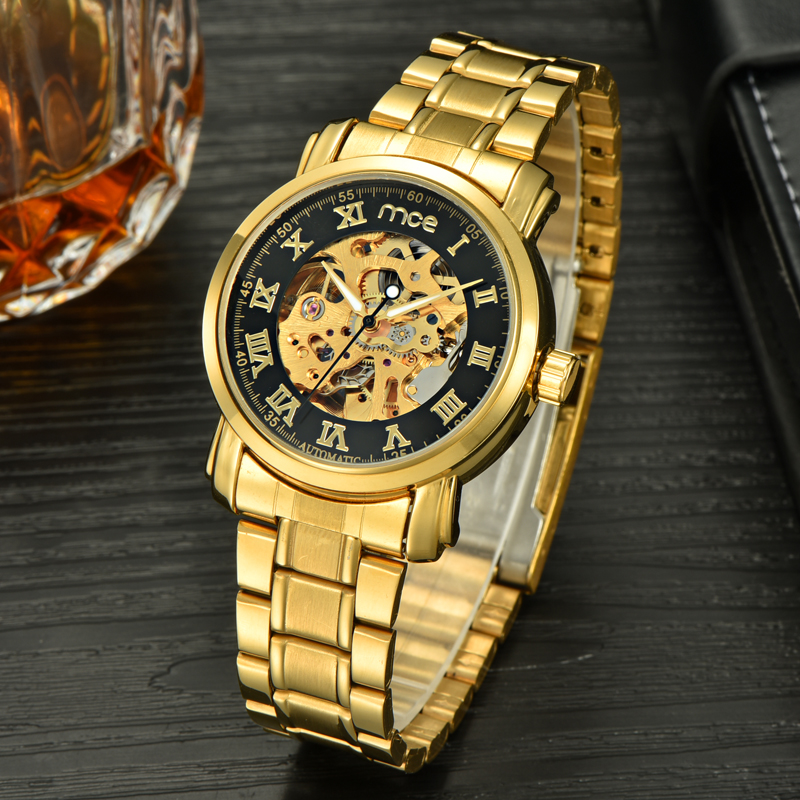 chinese top 10 brand movement skeleton automatic mechanical watch