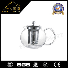 Wholesale Clear Pyrex Glass Teapot with Infuser