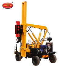 Diesel Guardrail Hydraulic Vibratory Pile Driver Machine