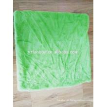 Útil almofada capa por atacado velo barato Coral travesseiro