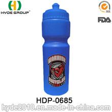 Garrafa de água de plástico esportes de 750ml para viajar (HDP-0685)