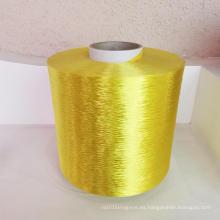 Hilo de filamento de poliéster teñido con geoprid de alta calidad