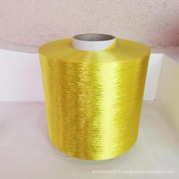 Fils de filament de polyester teints par géogrille de haute qualité