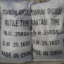Top quality virgin meterial White powder, non-toxic, odourless titanium dioxide plate