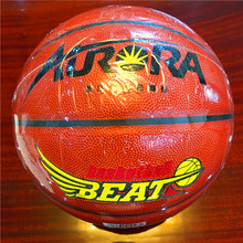 Basketball Customized Wear-Resisting Quality Cheap 8pieces 4#5#6#7# Aurora5123-1 PU Basketball