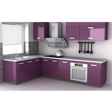 Glossy Wood Cabinet for Home Kitchen Furniture (customized)