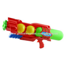 Toys/Water Pump Guns, 7m Maximum Distance, Red and Blue 2 Assorted Colors