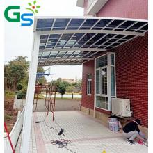 Guansu Factory Price Customization Size Car Parking Bigger Size Sunshade Aluminum Awning Canopies